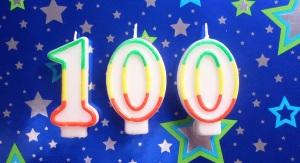 100th Blog Post width=