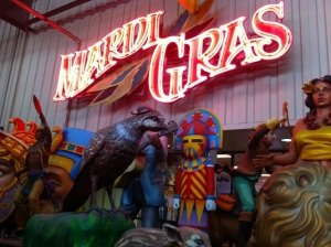 Mardi Gras World: where Mardi Gras parade floats come to life (New Orleans)