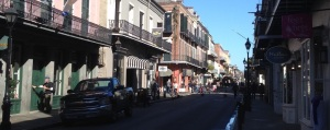 A shot of Royal Street in the French Quarter (photo credit: John Pemberton)