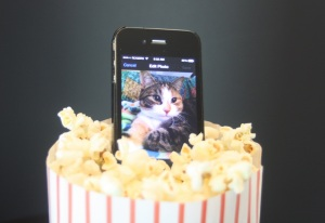 iPhone Movies Cat